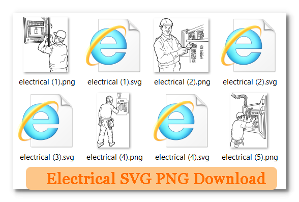Electrical SVG PNG Download